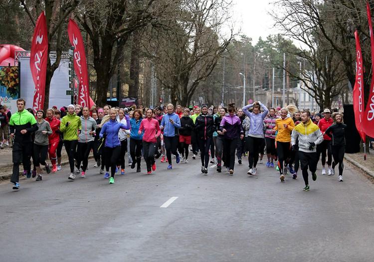 Latvijā pirmā Sieviešu skrējiena starts jau pēc divām dienām