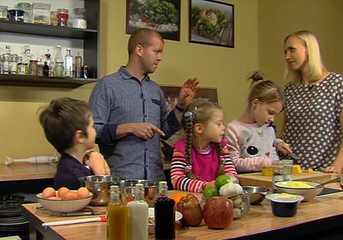 Ziemassvētku darbnīcas VIDEOrecepte: Gatavojam kopīgi ķirbju kūku!