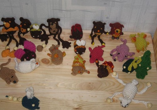 JAUNUMS MK Vecāku skolā! Tamborējam rotaļlietas un pirkstiņlelles!