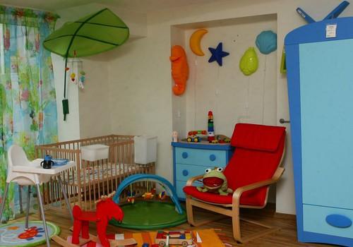 Ikea- ir ideja bērnistabas iekārtošanai!