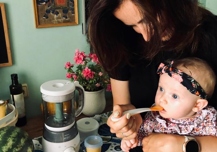 Mazuļu pirmo recepšu konkurss ar Philips AVENT un Superbēbīša māmiņu Kristīni
