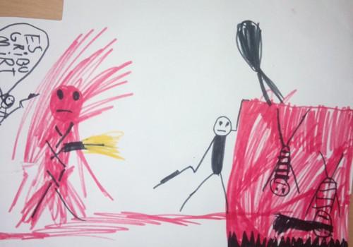 Zande: nav iespējams komentēt bērna zīmējumus, neizprotot situāciju
