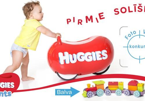 Foto-VideoKONKURSS: Mūsu mazuļa pirmie solīši