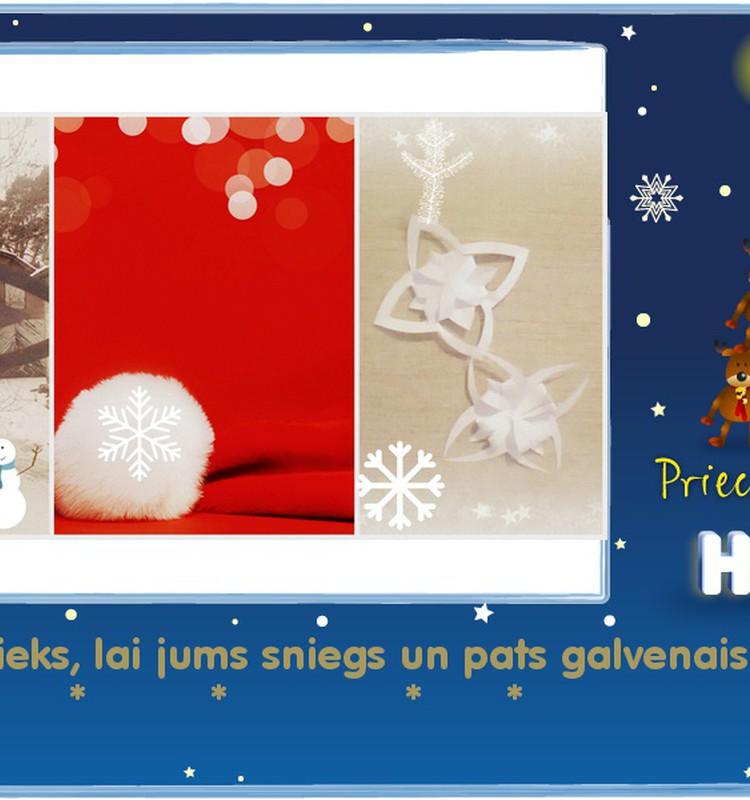 ***Ziemassvētki sabraukušu, rakstītām kamanām***