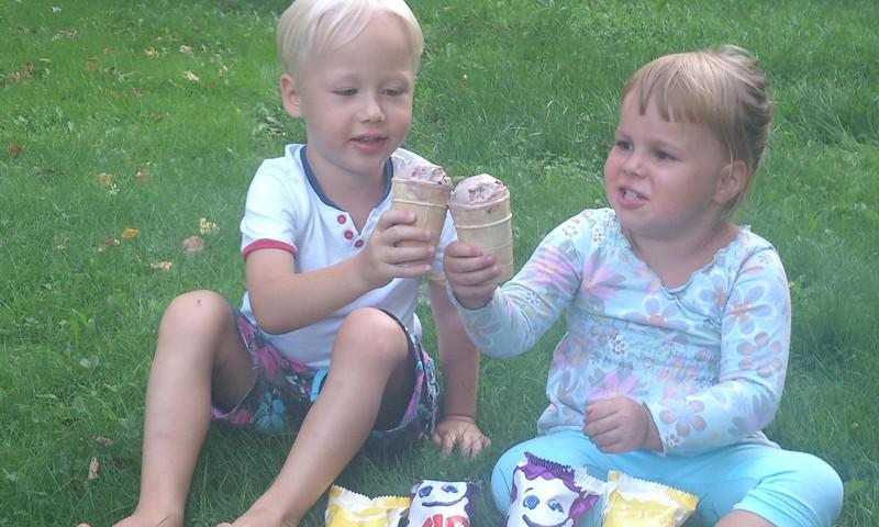 Garšīgais Tio saldējums!