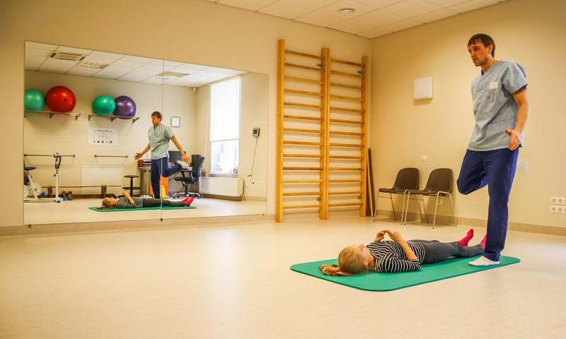 Pēc rekonstrukcijas darbiem atvērta Rehabilitācijas klīnika Bērnu slimnīcā