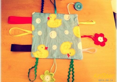 MEISTARKLASE: Attīstošā rotaļlieta - lupatiņa