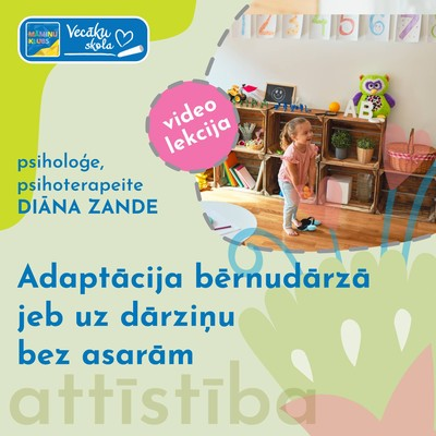 Adaptācija bērnudārzā jeb uz dārziņu bez asarām