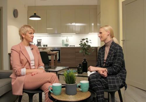 8.novembra TV raidījuma lielajā intervijā - Una Ulme