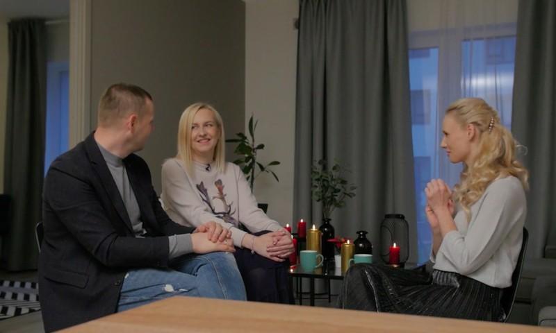 Ģimenes stiprums. Galvenā vērtība, ko savās meitās vēlas ieaudzināt Normunds un Elīna Baranovski