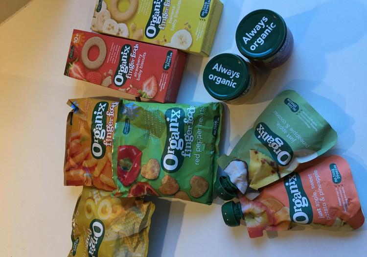 Našķojamies ar 'Organix'