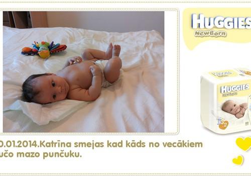 Katrīna aug kopā ar Huggies® Newborn: 86.dzīves diena
