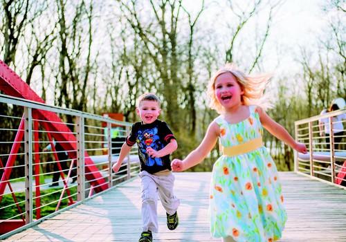 Iedvesmot bērnu skriet