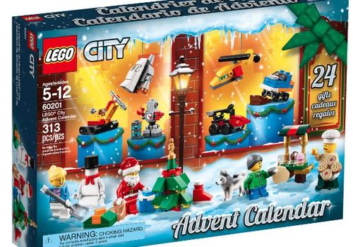 Ziemassvētkus kopā ar LEGO Adventes kalendāriem sagaidīs...