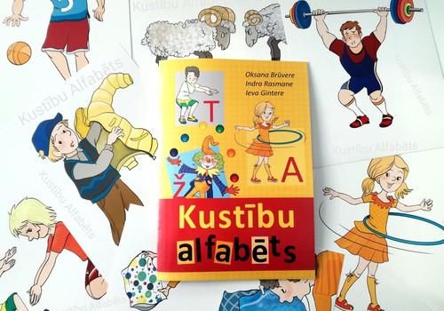 Bērni apgūst alfabētu kustībā