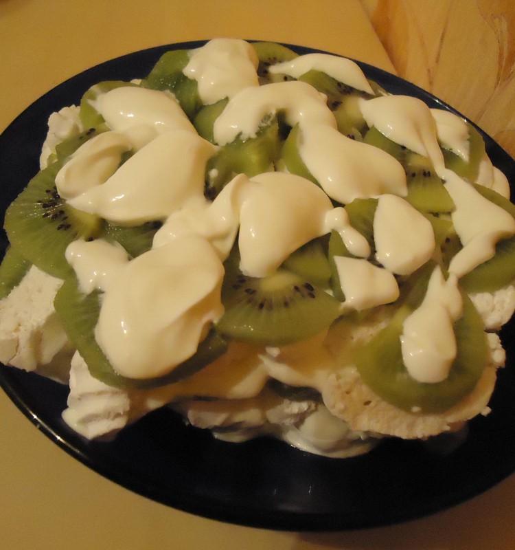 Zefīra un kivi saldais