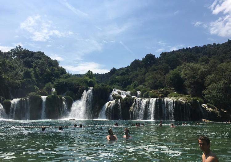 Braucam ar bērniem uz Horvātiju: Krkas nacionālais parks