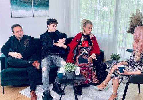 13. jūnija Māmiņu Kluba TV raidījuma lielajā intervijā - Pecolli ģimene