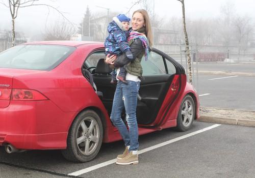 Mazais pasažieris: Kā izturēties, ja mašīnā ir bērns