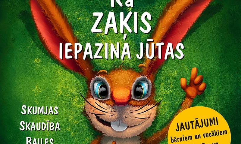 """Iznākusi lietuviešu rakstnieces Šarūnes Baltrušaitienes grāmata bērniem """"Kā zaķis iepazina jūtas"""""""