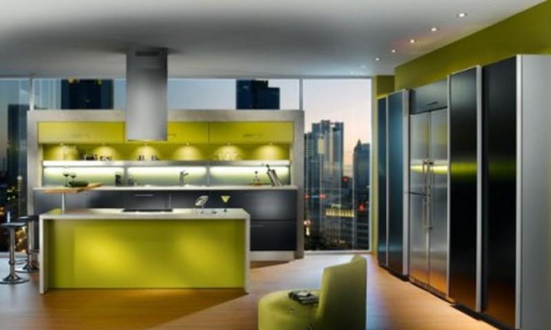 Dzīvojam plaši mazā telpā: kā iekārtot virtuvi?