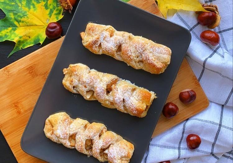Gardās rudens ābolmaizītes