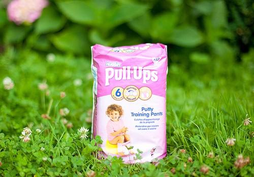Autiņbiksītes Huggies® Pull-Ups® - mazajām princesēm, kas gatavas uzsākt draudzību ar podiņu