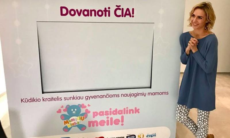 """Labdarības akcija """"Dalies un Samīļo!"""" pie mums atceļojusi no Lietuvas!"""