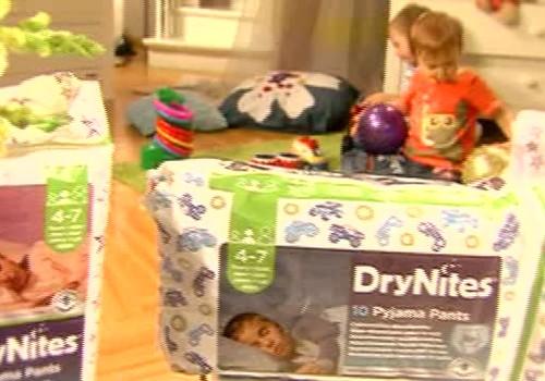 VIDEOprezentācija: DryNites® uzsūcošas nakts biksītes lielākiem bērniem