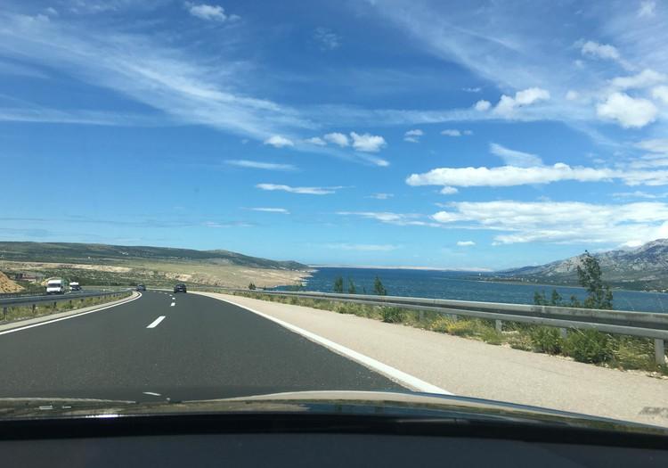 2150km cauri Eiropai - braucam ar bērniem uz Horvātiju