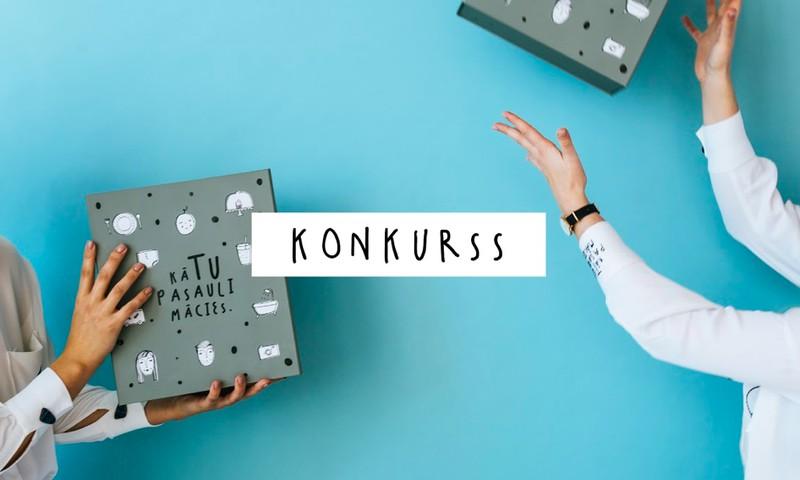 Facebook KONKURSS: Laimē Modulāro bērnu atmiņu grāmatu kastē!