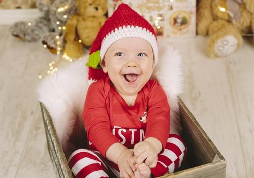 Olivera pirmie Ziemassvētki!