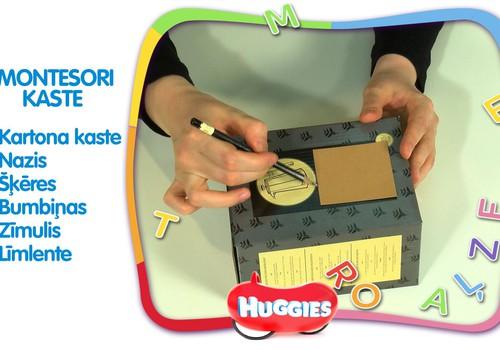 Montessori kaste DIY: VIDEOpamācība