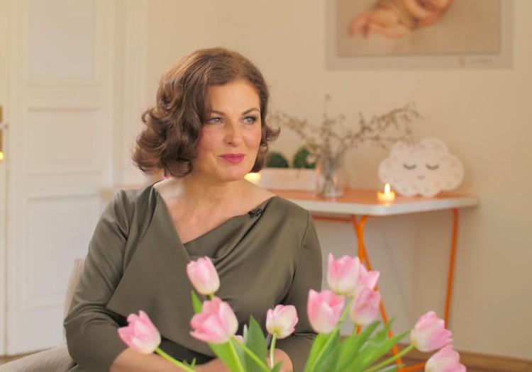 10. maija TV raidījuma lielajā intervijā - Aurēlija Anužīte-Lauciņa