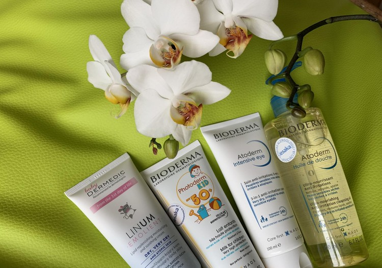 Kosmētikas produkti, kas parūpējas par mammas un mazuļa ādu