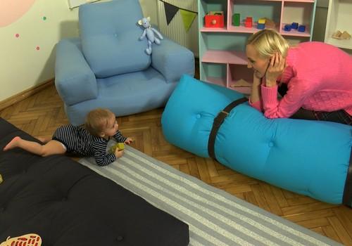 VIDEO: Matracis mazuļa attīstībai. Rāpo droši!