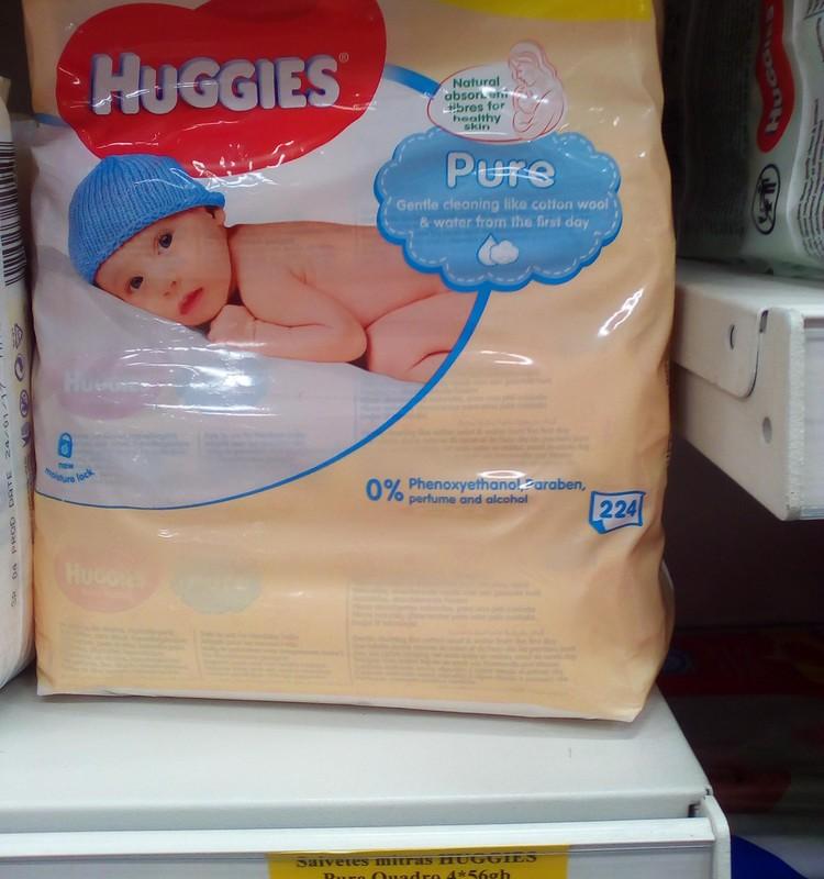 """Veikalā """"Mego"""" atlaide Huggies mitrajām salvetēm"""