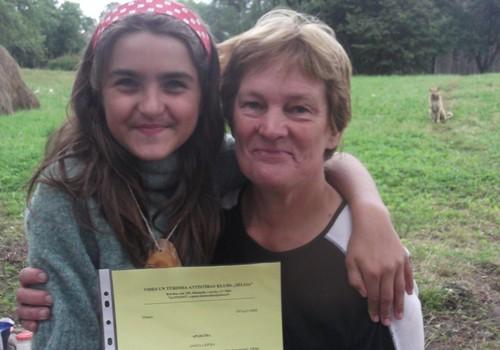 """Meita piedzīvoja pirmo  nometni, """"COPE Ormaņkalns-2013"""" ir aiz muguras."""