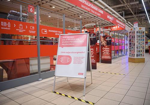 Rimi veikalos tiek ieviesti stingrāki piesardzības noteikumi