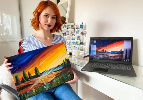 Uzglezno gleznu pats ar savām rokām, neizejot no mājām!