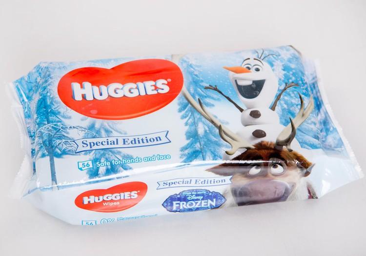 Salvetes Huggies@ Disney ar Olafu un Svenu - foršas!