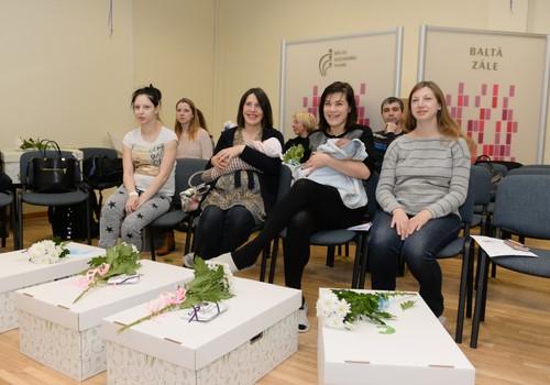 Jaundzimušie saņem dāvanā pūriņu no Somijas