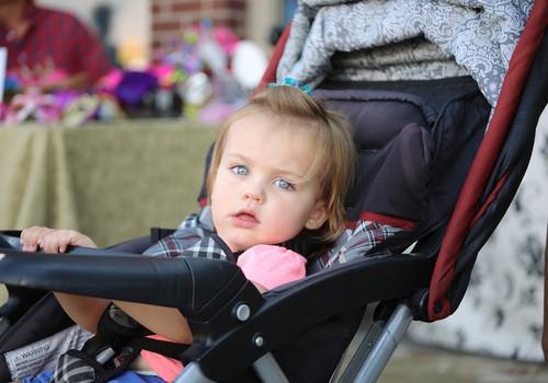 Cik vecs bija jūsu bērniņš, kad pastaigās vairs neņēmāt līdzi ratus?