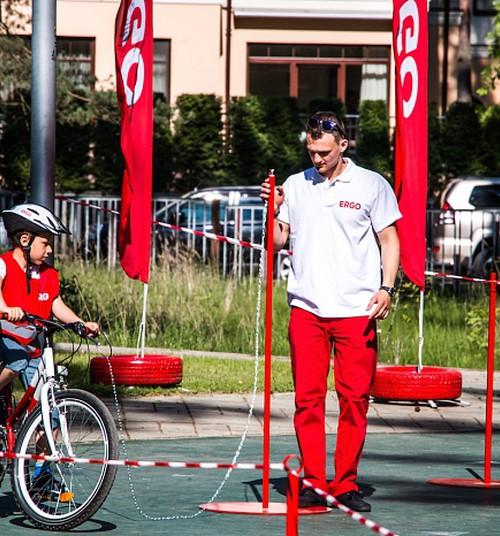 Svētku laikā bērni varēs pārbaudīt savas velobraukšanas prasmes