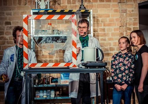 6. oktobrī skatītājiem durvisatvēra zinātniskais teātris Laboratorium.lv!