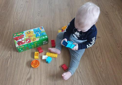 Laimīga mazuļa dienasgrāmata: Mans pirmais Lego duplo