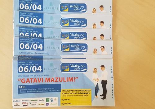 Māmiņu Kluba Vecāku skolā biļetes uz 6.aprīļa Grūtnieču konferenci par īpašo cenu!