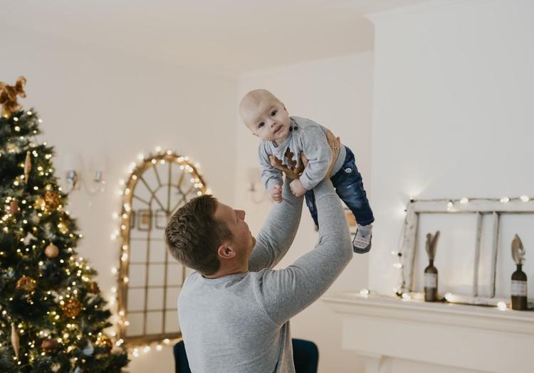 Laimīga mazuļa dienasgrāmata:  Tētis ir visa mana pasaule.