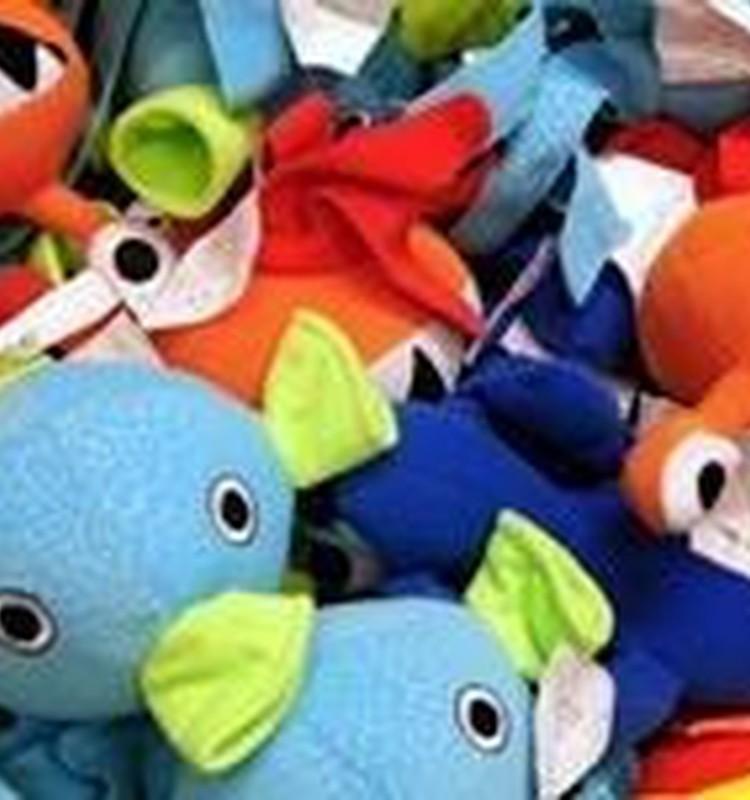 Cik daudz rotaļlietām jābūt mazulim?