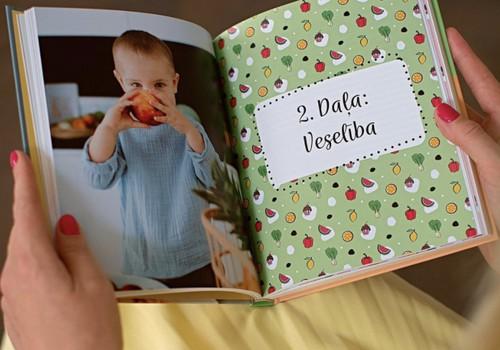 Izdota jauna grāmata par izvēlīgo ēšanu bērniem